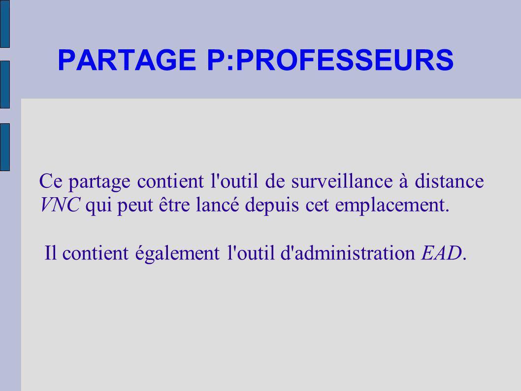 PARTAGE P:PROFESSEURS