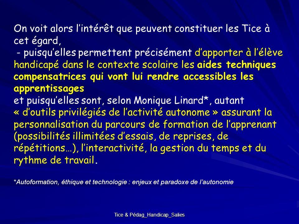 Tice & Pédag_Handicap_Salies