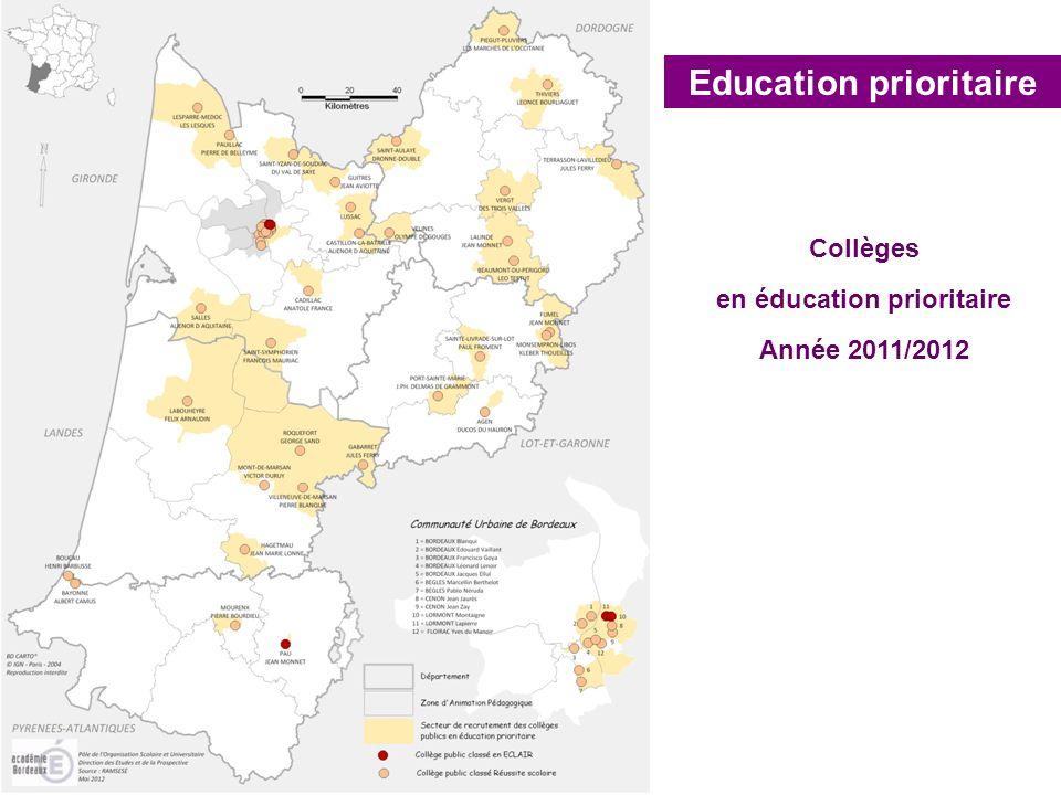 Education prioritaire en éducation prioritaire