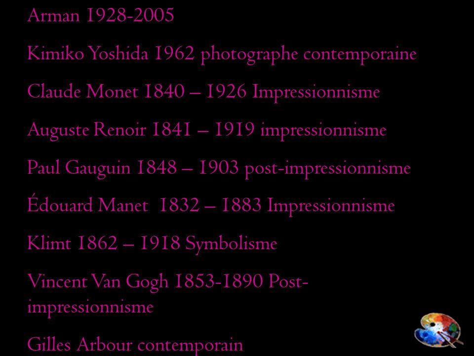 Ariane Sayegh Septembre 2008 Arman 1928-2005