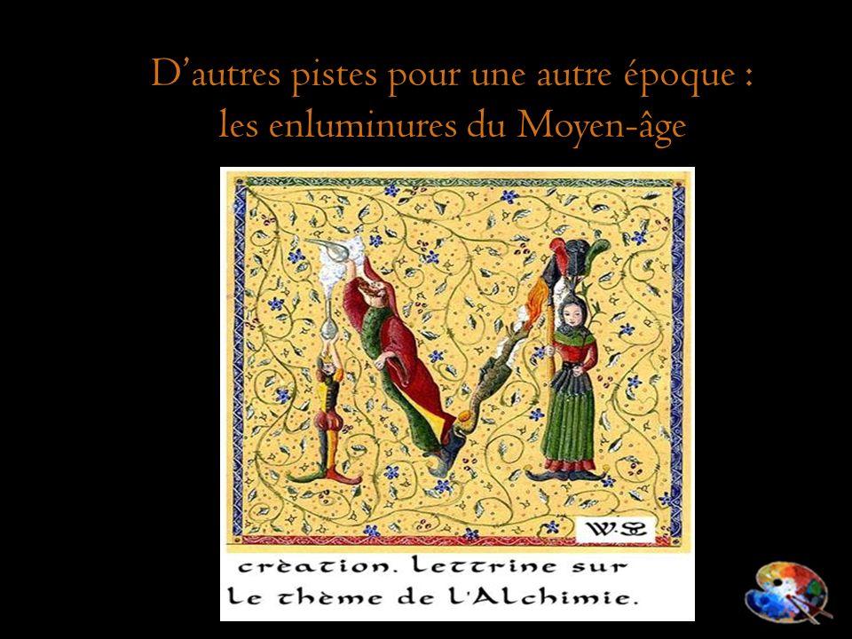D'autres pistes pour une autre époque : les enluminures du Moyen-âge