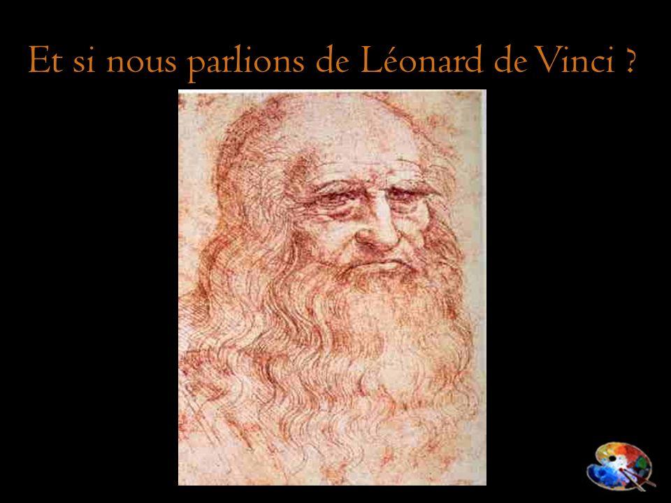 Et si nous parlions de Léonard de Vinci