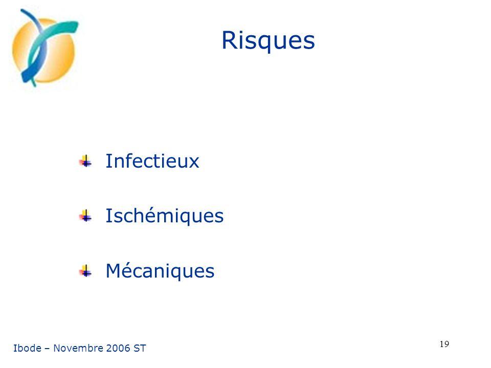 Infectieux Ischémiques Mécaniques
