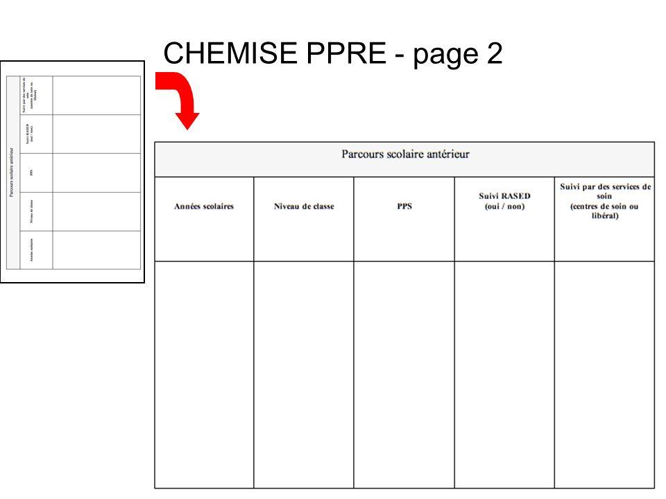 CHEMISE PPRE - page 2
