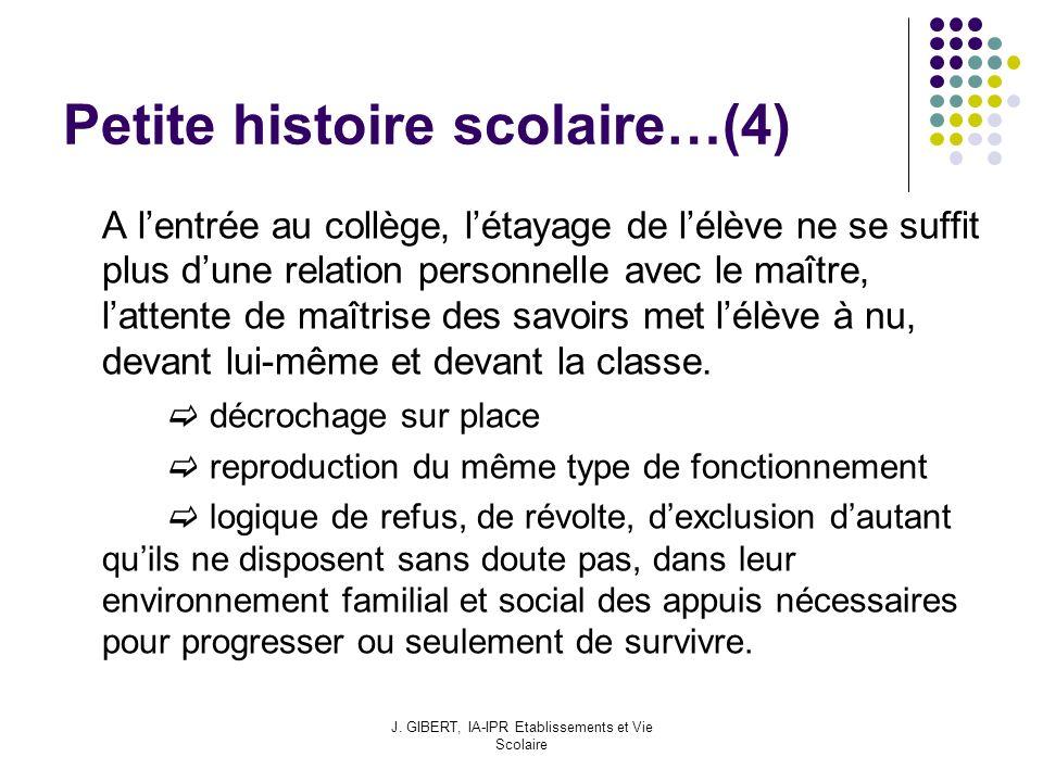Petite histoire scolaire…(4)