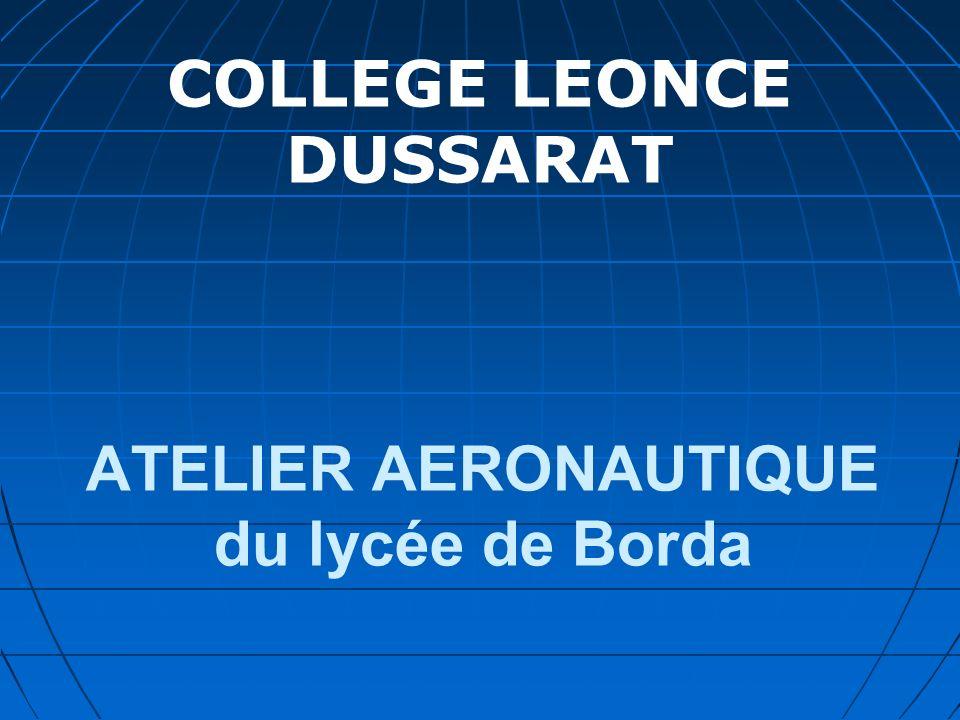 ATELIER AERONAUTIQUE du lycée de Borda