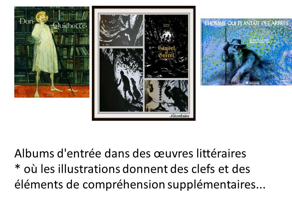 Albums d entrée dans des œuvres littéraires