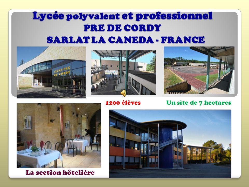Lycée polyvalent et professionnel PRE DE CORDY
