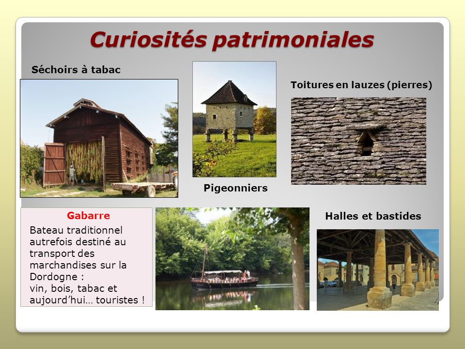 Curiosités patrimoniales
