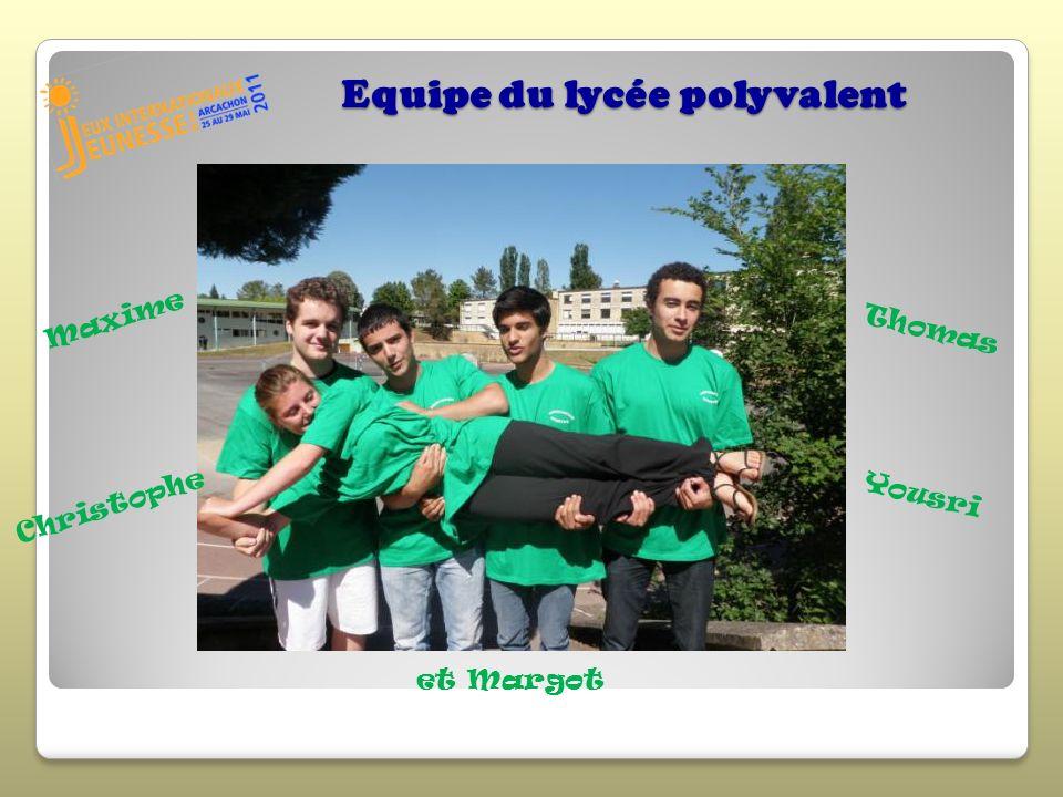 Equipe du lycée polyvalent