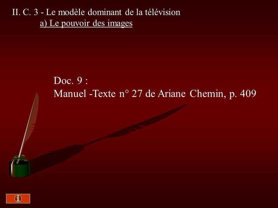 Manuel -Texte n° 27 de Ariane Chemin, p. 409