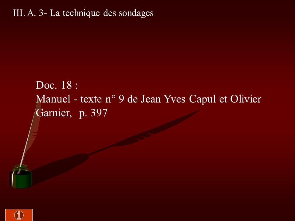 Manuel - texte n° 9 de Jean Yves Capul et Olivier Garnier, p. 397
