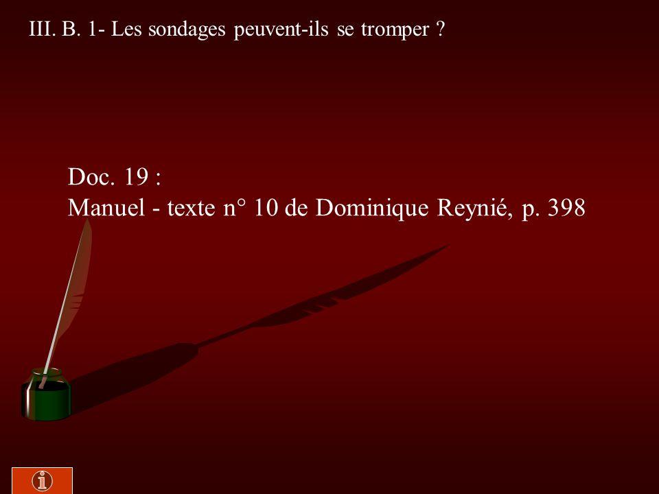 Manuel - texte n° 10 de Dominique Reynié, p. 398