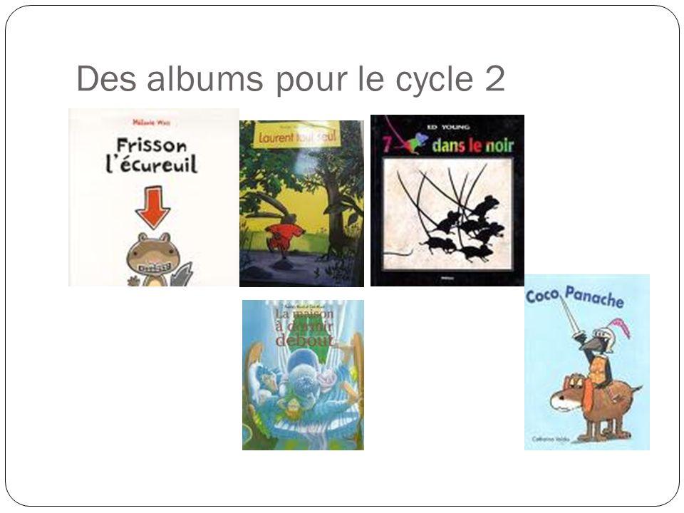 Des albums pour le cycle 2