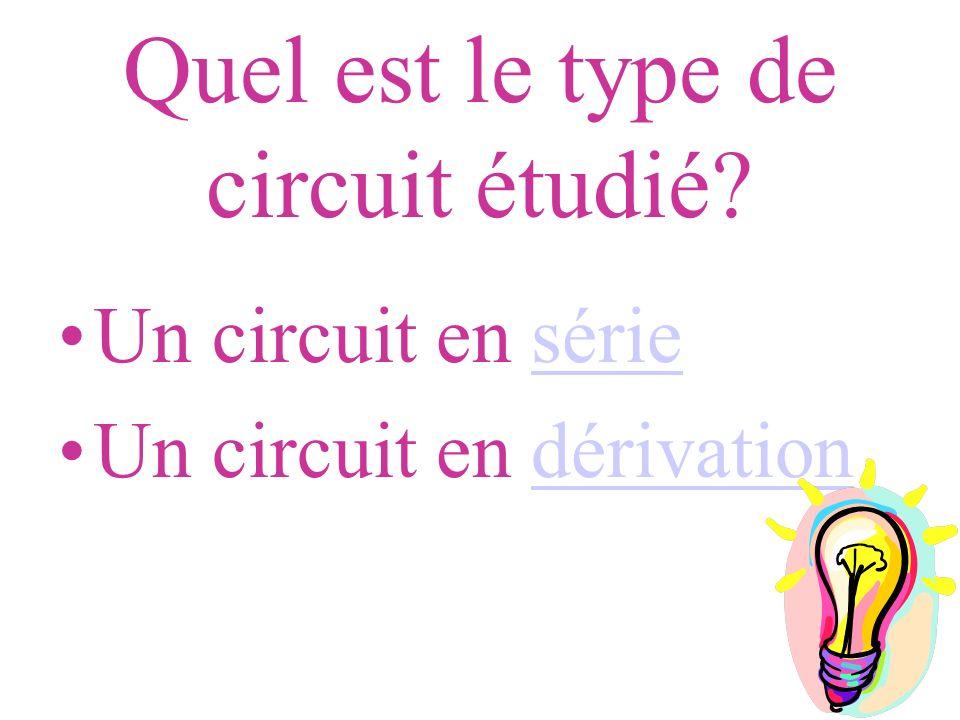 Quel est le type de circuit étudié