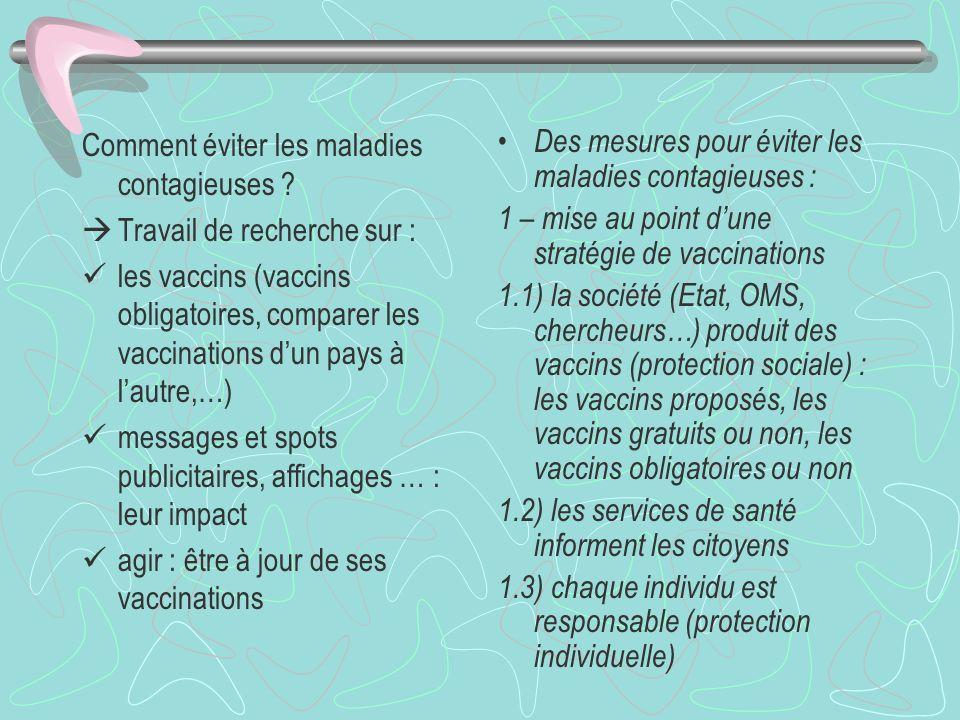 Comment éviter les maladies contagieuses