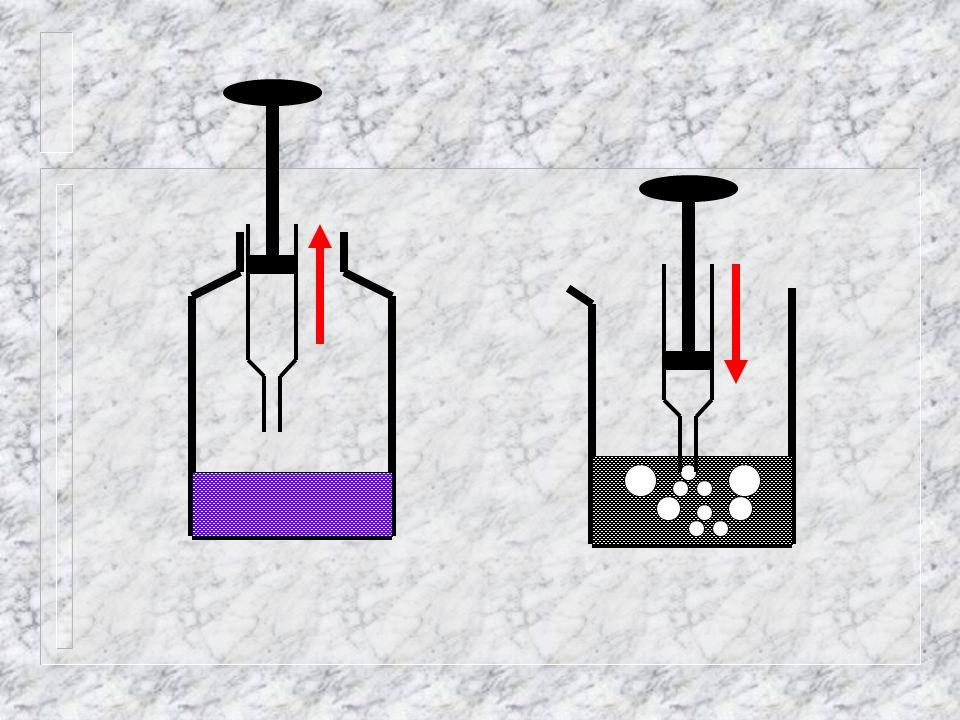 1 . Prélever le gaz provenant de la combustion.