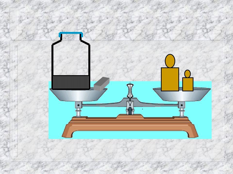 1 . L 'utilisation d 'une balance électronique faciliterait la tâche.