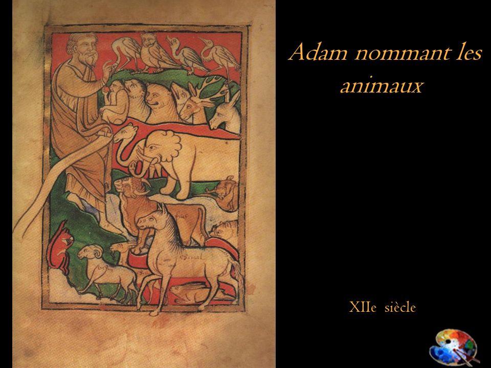 Adam nommant les animaux