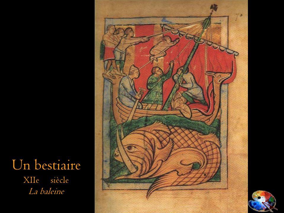 Un bestiaire XIIe siècle La baleine