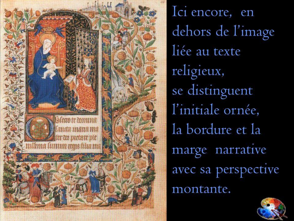Ici encore, en dehors de l'image liée au texte religieux,
