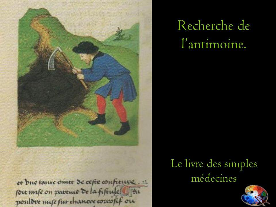 Recherche de l'antimoine.