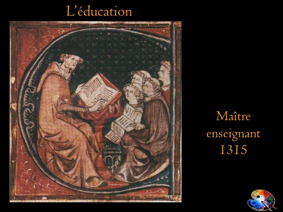 L'éducation Maître enseignant 1315