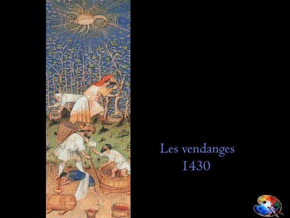 Les vendanges 1430
