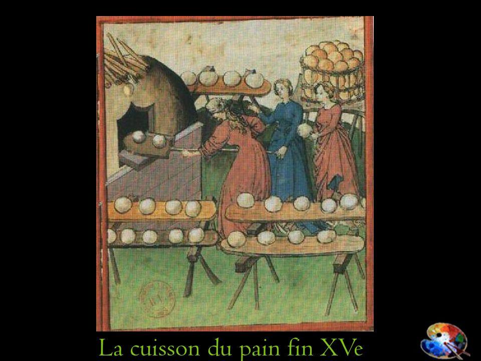 La cuisson du pain fin XVe