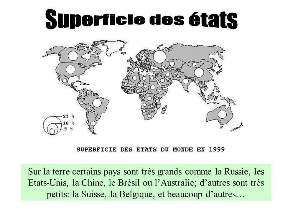 Superficie des états