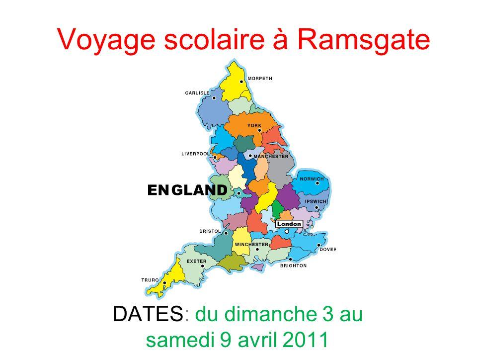 Voyage scolaire à Ramsgate