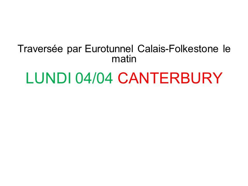 Traversée par Eurotunnel Calais-Folkestone le matin