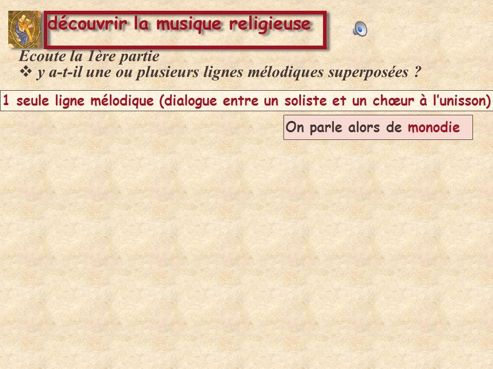 découvrir la musique religieuse