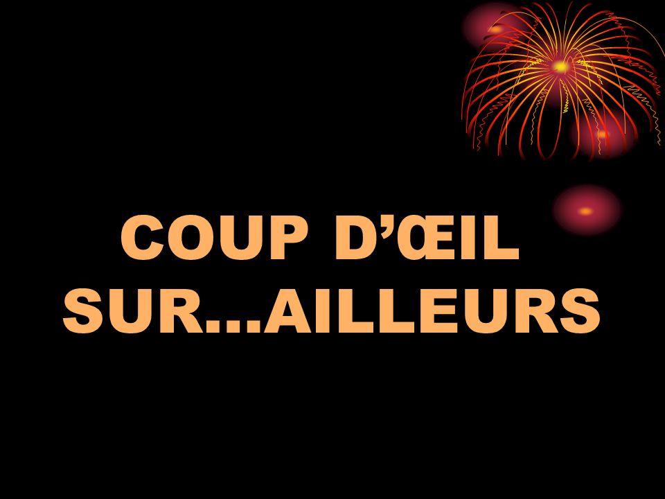 COUP D'ŒIL SUR…AILLEURS