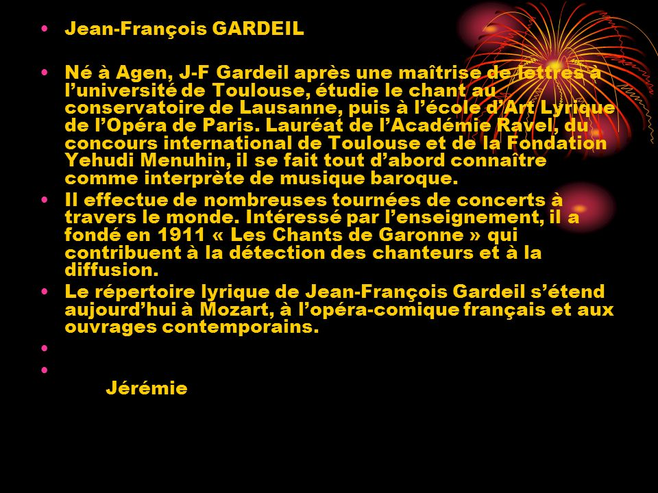 Jean-François GARDEIL