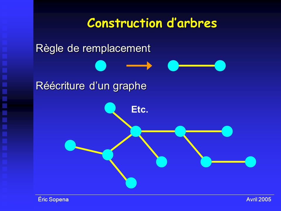 Construction d'arbres