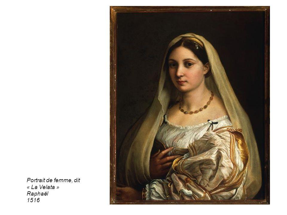 Portrait de femme, dit « La Velata » Raphaël 1516