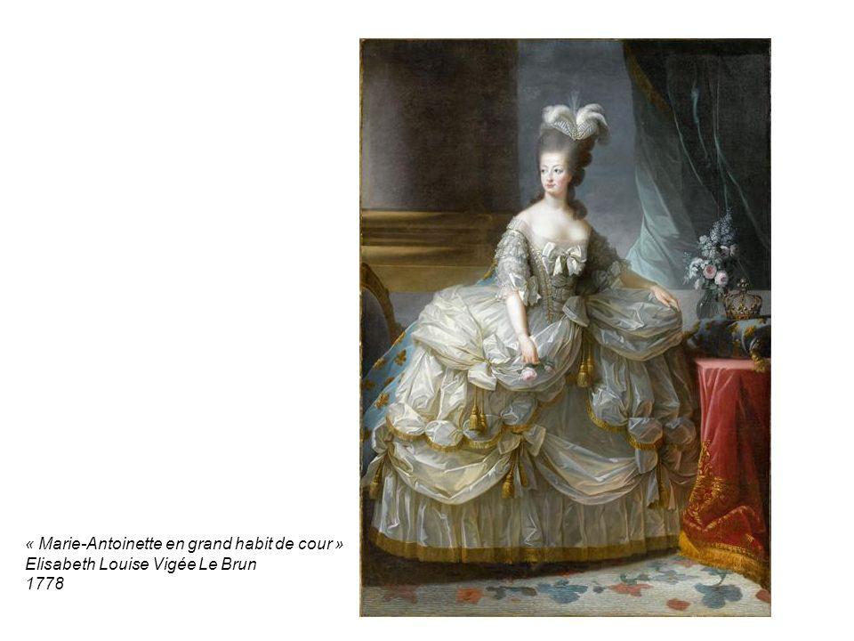 « Marie-Antoinette en grand habit de cour »