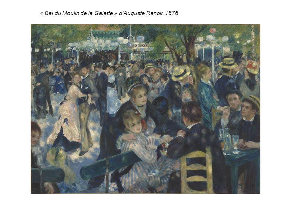 « Bal du Moulin de la Galette » d'Auguste Renoir, 1876