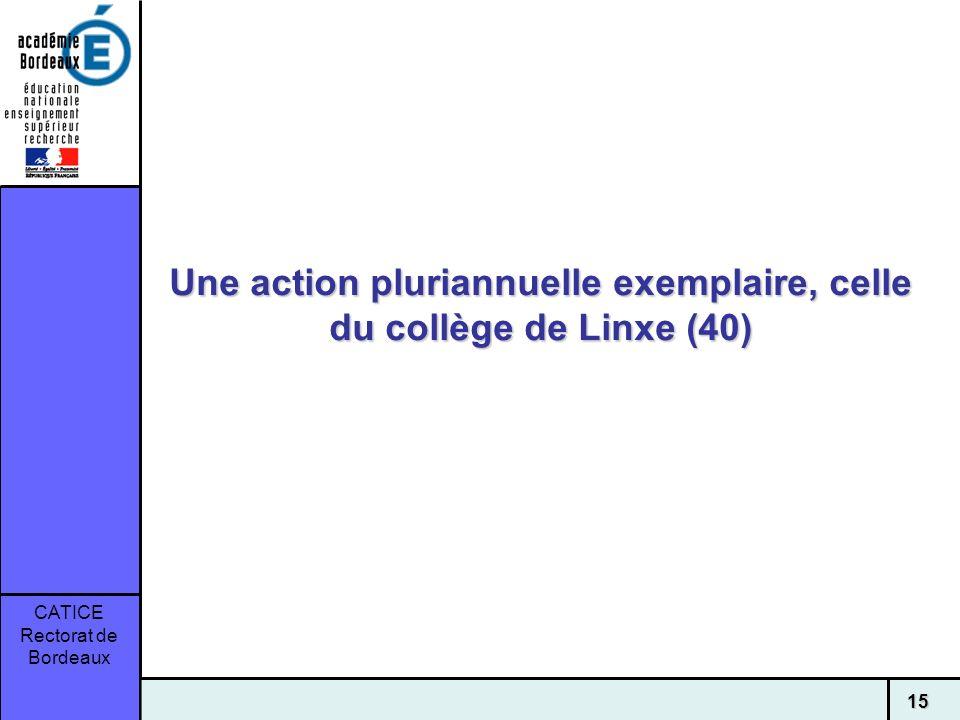 Une action pluriannuelle exemplaire, celle du collège de Linxe (40)