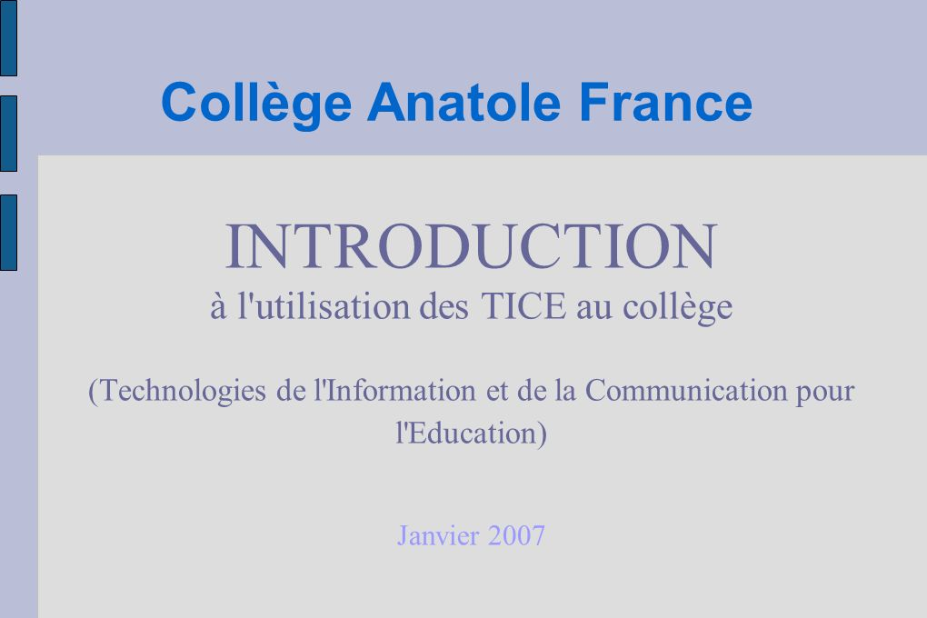 Collège Anatole France