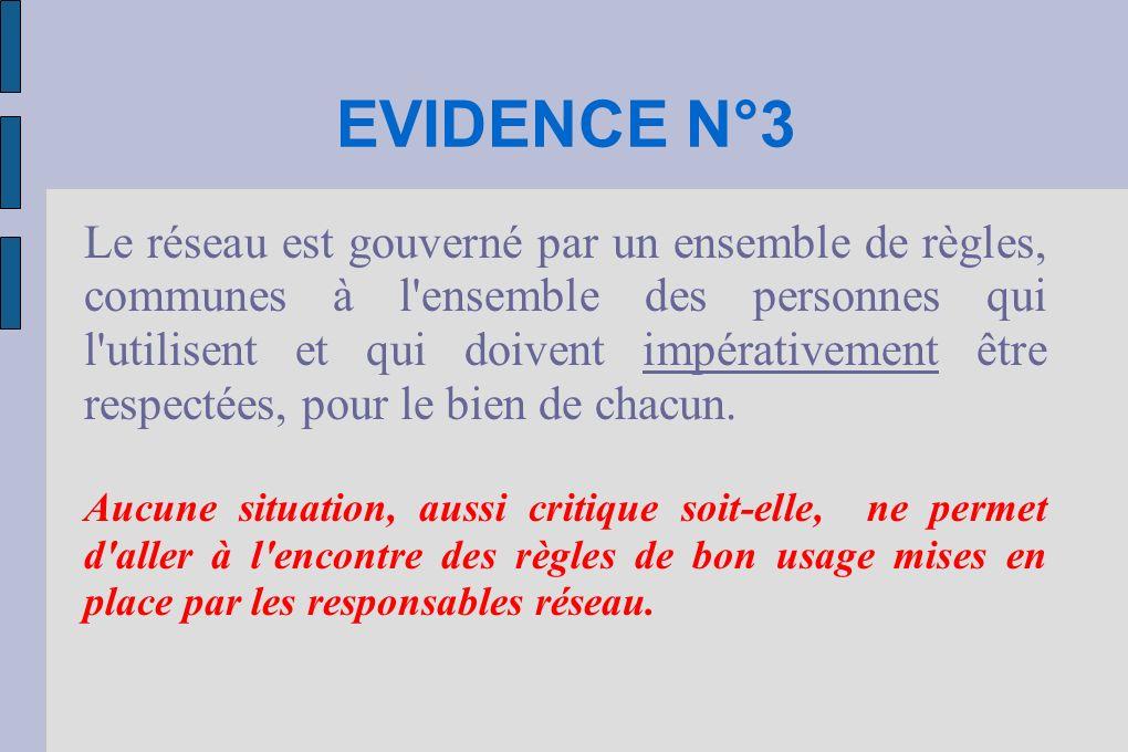 EVIDENCE N°3