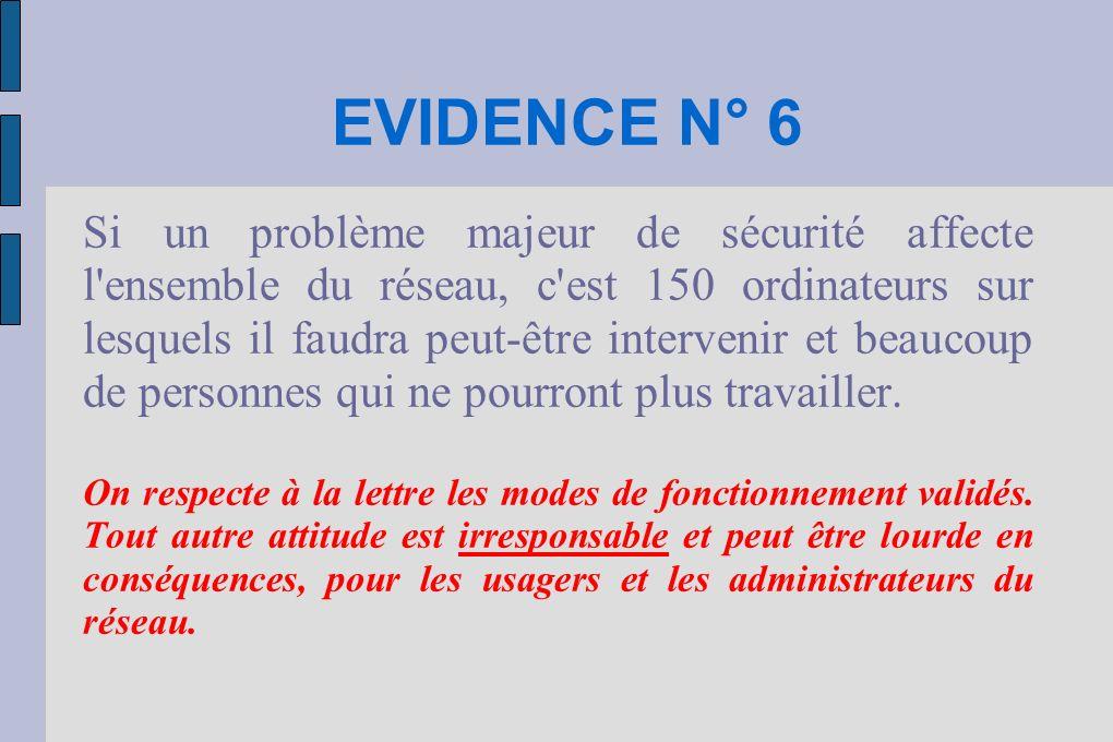 EVIDENCE N° 6