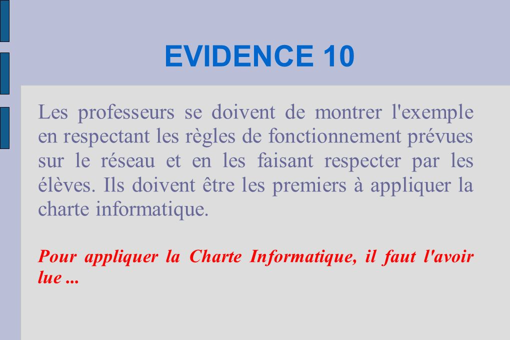 EVIDENCE 10