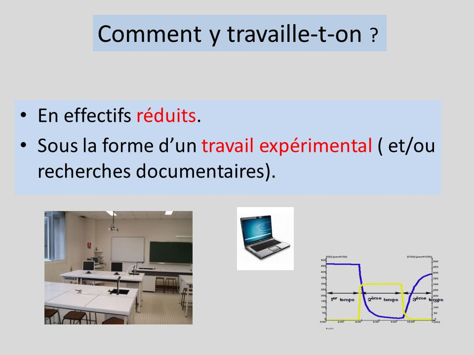 Comment y travaille-t-on
