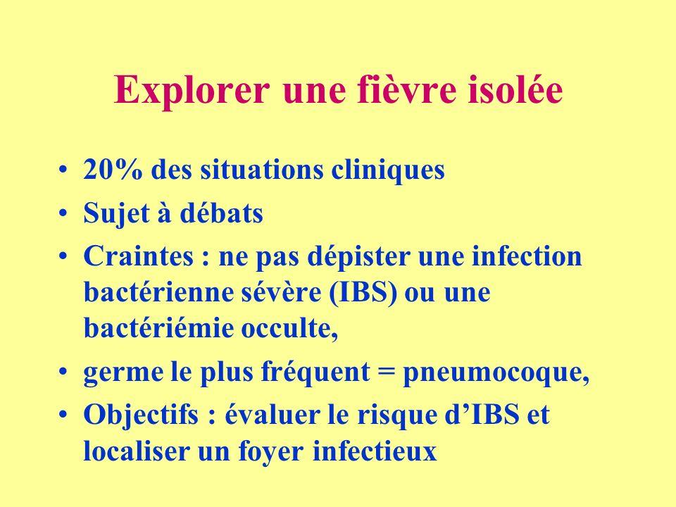 Explorer une fièvre isolée