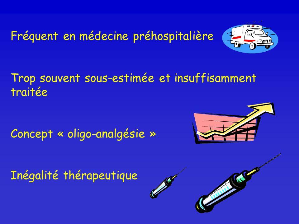 Fréquent en médecine préhospitalière