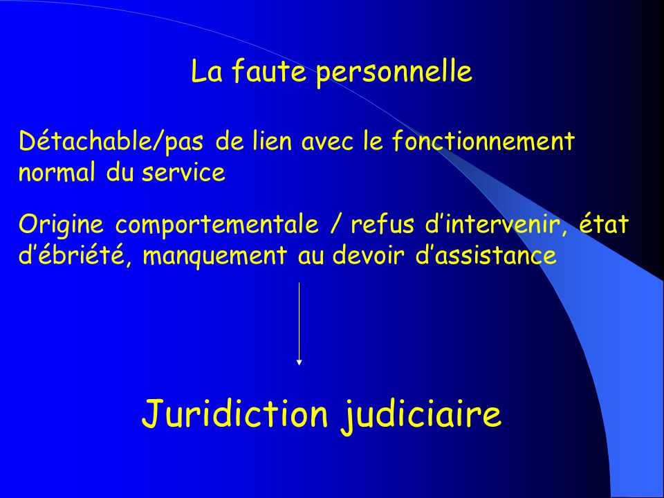 Juridiction judiciaire