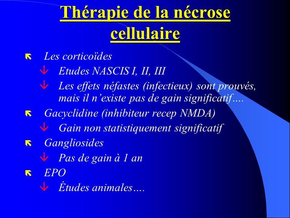 Thérapie de la nécrose cellulaire