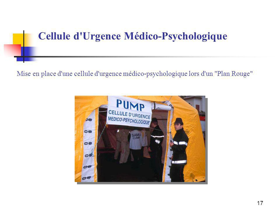 Cellule d Urgence Médico-Psychologique